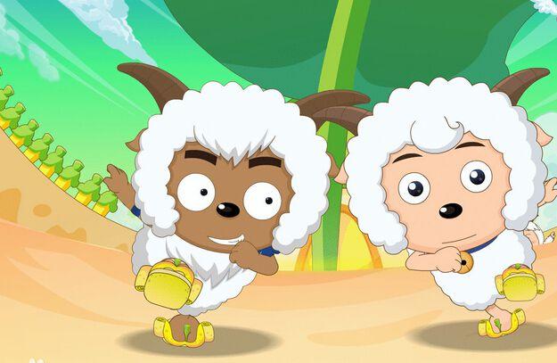 喜羊羊与灰太狼之羊羊小心愿 电影版